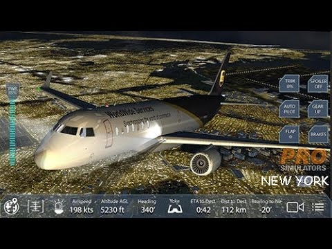 Pro Flight Simulator NEW YORK (NY) | Android Gameplay