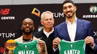 Were Kemba Walker and Enes Kanter really the Celtics' Plan A in free agency? | High Noon
