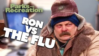 Ron Swanson Battles An Infection | Parks and Recreation | Comedy Bites