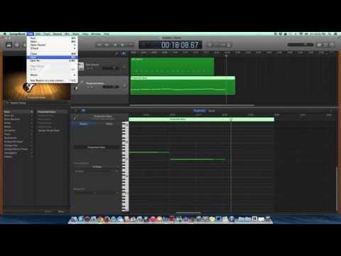 Saving your song as an mp3 in Garageband READ DESCRIPTION