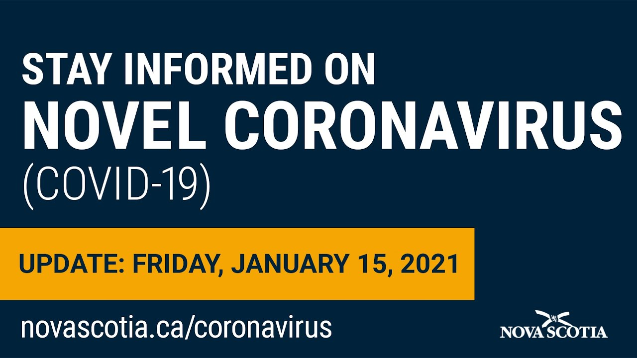 Update COVID-19 for Nova Scotians: Friday, January 15