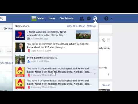 How to turn off tags notifications in Facebook