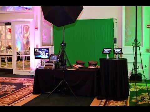 Green Screen Photography Photo Booth Bat Mitzvah