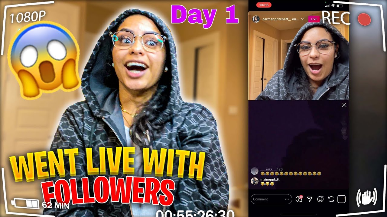 I Went Live With My Followers To Answer Questions (THEY TOO BOLD)😱 Vlogmas Day 1