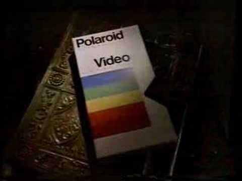 Vincent Price Polaroid VHS commercial 1985