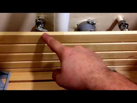 Do Not Cut The IKEA Bathroom Sink Cabinet Drawers!! Use proper pipeline adapter