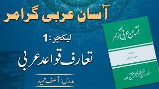 Duroos ul lughat ul arabia book 1 دروس اللغۃ العربیۃ lecture
