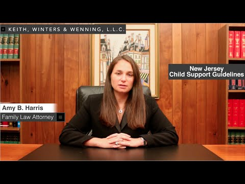 How are alimony and child support calculated in New Jersey?