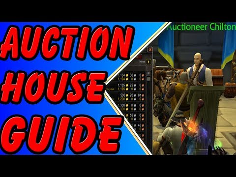How to use the WoW Auction House