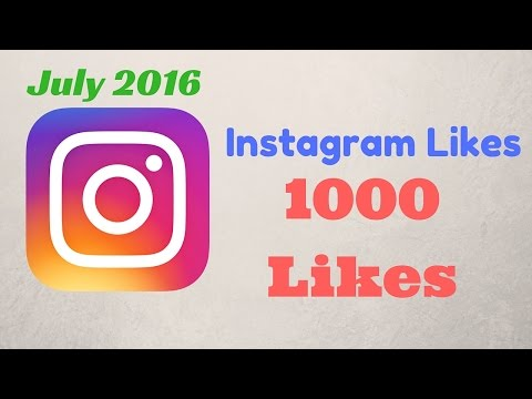 Quickest Way To Get Upto 1000 Likes On INSTAGRAM Free | Latest July 2016