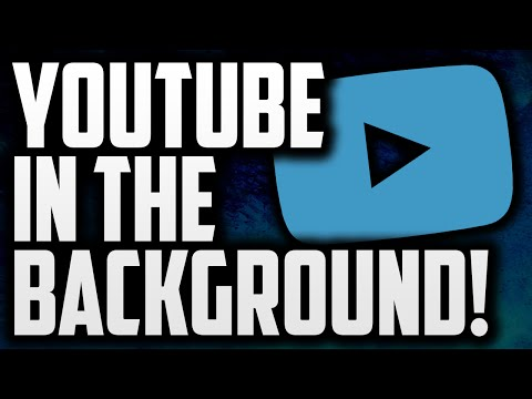 How To Play YouTube Videos In The Background Of Your Phone! (Android)
