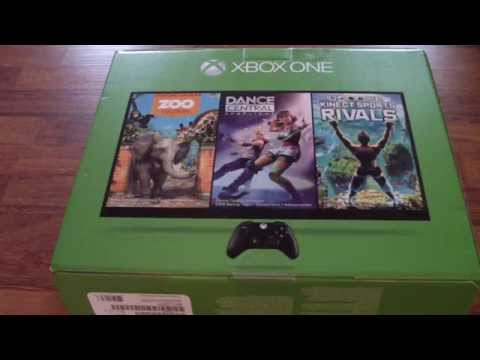 2015 UNBOXING XBOX ONE BUNDLE WITH KINECT 2.0