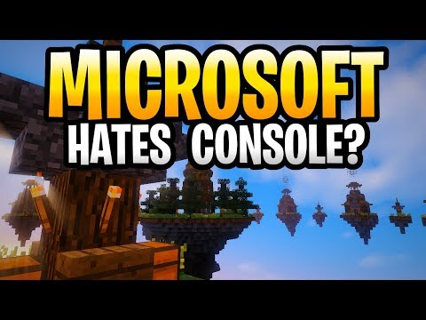 Microsoft Hates Console Edition Minecraft? PS3, PS4, Xbox One, Xbox 360 & Wii U