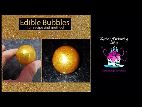 How to Make Edible Gelatin Bubbles