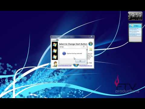 How to Change Your Windows 7/Vista Start Orb/Button