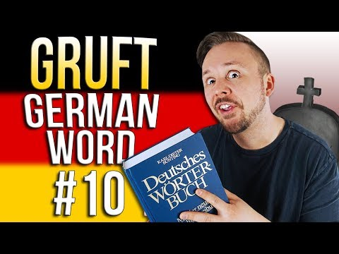 Learn German A.1 🇩🇪 Word Of The Day: die Gruft | Episode 10 | Get Germanized