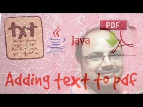 PDF box tutorial #1 | create and add text to PDF using java