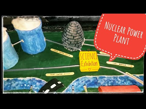 Nuclear power plant for Science exibition😃
