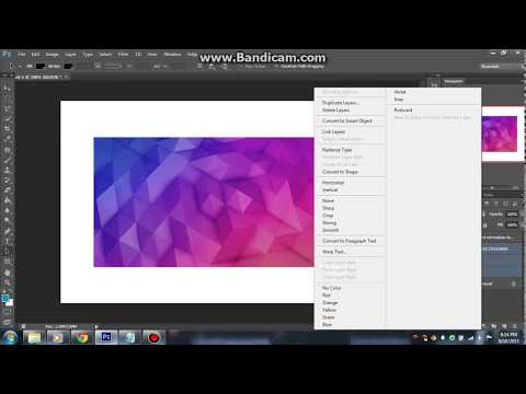 TUTORIAL | How to make a simple LOGO in Photoshop CS5/CS6/CC