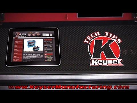 Keyser Tech Tips - Spark Plug Cross Reference