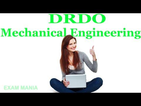 DRDO CEPTAM STA B SYLLABUS OF MECHANICAL ENGINEERING