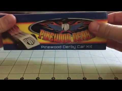 How I Made A Simple Pinewood Derby Car