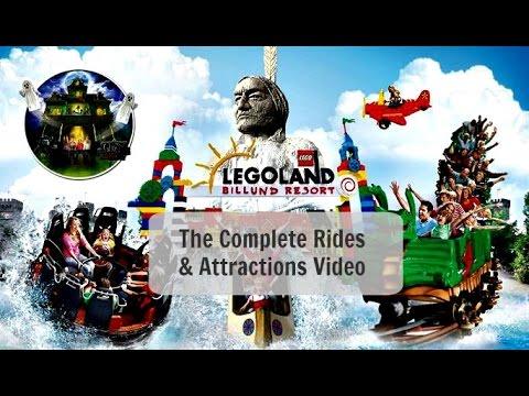 Legoland Denmark: Complete Attractions & Rides