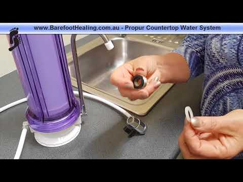 How To Install The Propur Countertop Water System