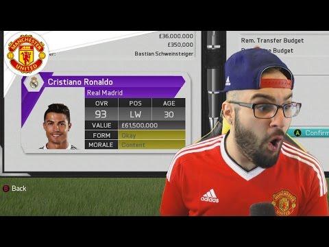 MANCHESTER UNITED SIGN CRISTIANO RONALDO!! - FIFA 16 Career Mode #17