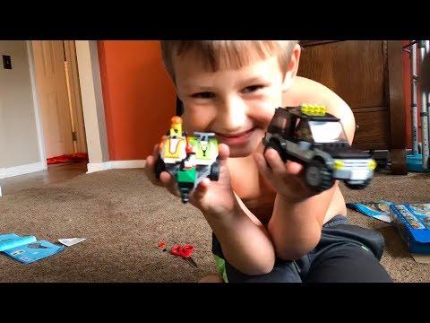 Lego Fast Build Truck Jet Ski & Trailer
