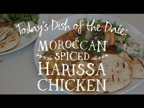 Dish of the Dale: Moroccan Spiced Harissa Chicken