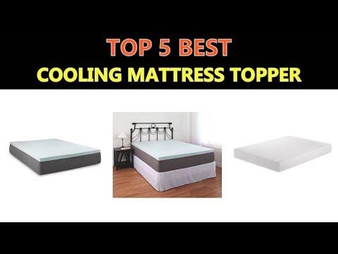Best Cooling Mattress Topper 2018