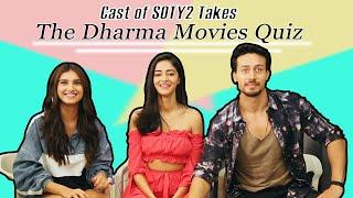 Download Cast of SOTY 2 takes the Dharma Movies Quiz | Ananya Panday | Tara Sutaria | Tiger Shroff | Filmfare Video