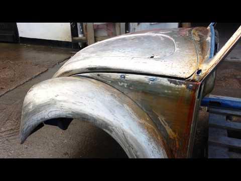 Rat look vw beetle rusting in seconds