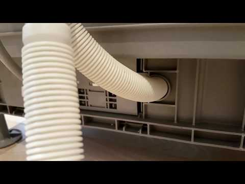 DIY : Replacing A Dishwasher Outlet / Drainage Hose - Not Extending