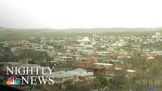 Devastated Island Off Puerto Rico Desperate For Aid | NBC Nightly News