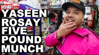 Yaseen Rosay - The Five Pound Munch [Episode 53] @Yaseen_Rosay   Grime Report Tv