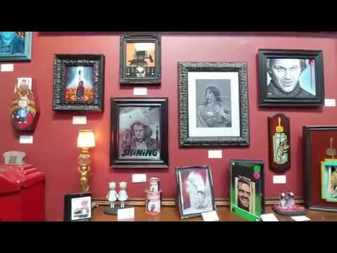 Bearded Lady's Mystic Museum - The Shining Exhibit