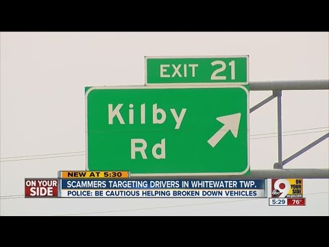 Drivers, beware of scam on Tri-State roadways