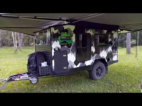 Camper Trailer Off Road 4 x 4 Australia 2018 New 360 degree awning