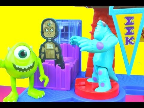 Xxx Mp4 Imaginext Scare Games Playset Sulley Amp Mike Scare Against JOX Monsters University 3gp Sex