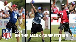On the Mark QB Skills Competition (2006) | NFL Pro Bowl Skills Challenge