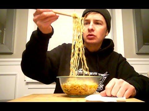 Tempura Udon Noodle Soup Review - Nongshim