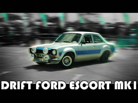 DRIFTING CLASSIC FORD ESCORTS IN PORTUGAL - [TODDLER REACTS] FAMILY DAILY VLOG