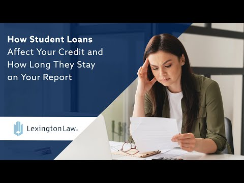 How Student Loans Affect Your Credit | Lexington Law