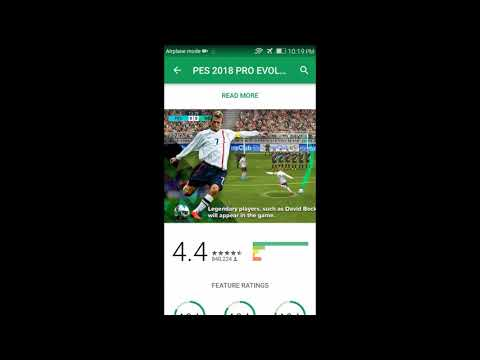 PES 2018 Android : How to Download and Install from Google Play Store