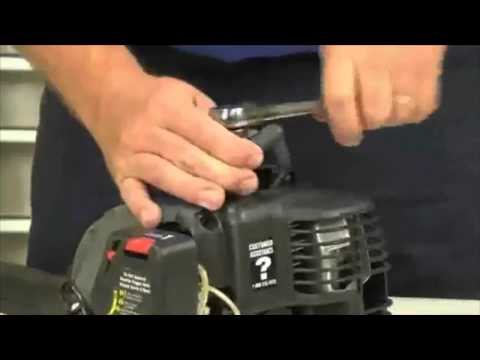 How to Tune Up Your Lawn Trimmer Video: Maintenance Tutorial from Sears Home Services