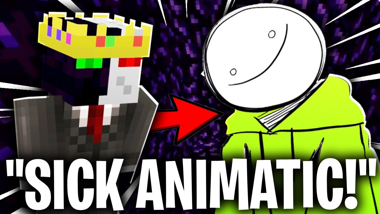 Ranboo REACTS TO ANIMATICS IN MEDIASHARE! (dream smp)