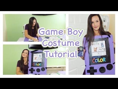 DIY Game Boy Costume Tutorial