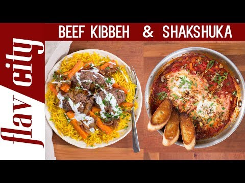 Plated Meal Kit Review - Shakshuka & Beef Kibbeh